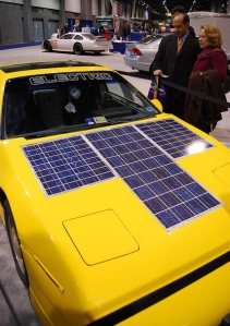 solar power car
