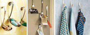 Ever wonder what to do with old, mismatched kitchen utensils?  Courtesy of Twisted Sifter.
